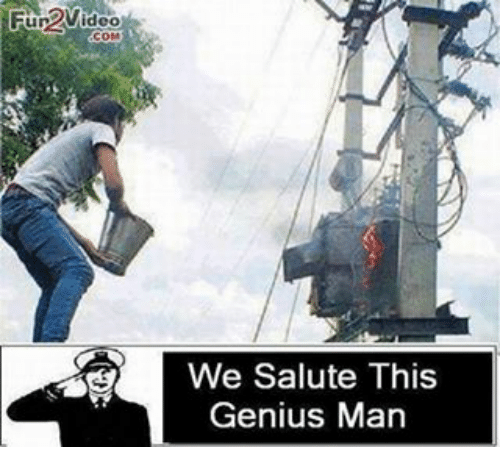 saluteing: Fun 2Video  We Salute This  Genius Man