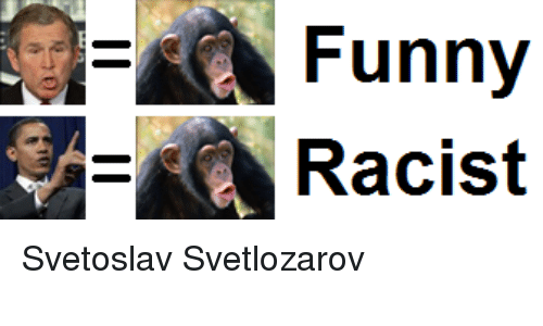Funny, Racist, and Anarchyball: Funny  3A- Racist Svetoslav Svetlozarov