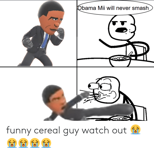 cereal guy: funny cereal guy watch out 😭😭😭😭😭
