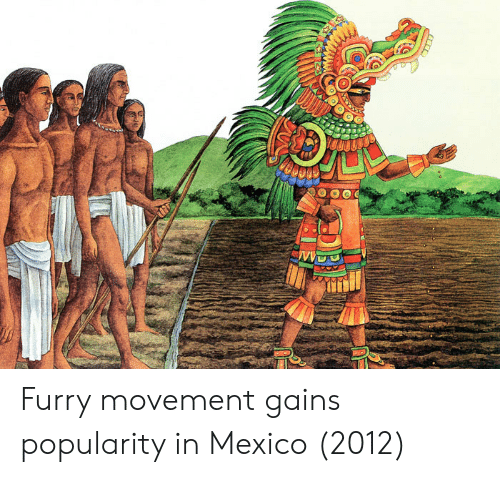 gains: Furry movement gains popularity in Mexico (2012)