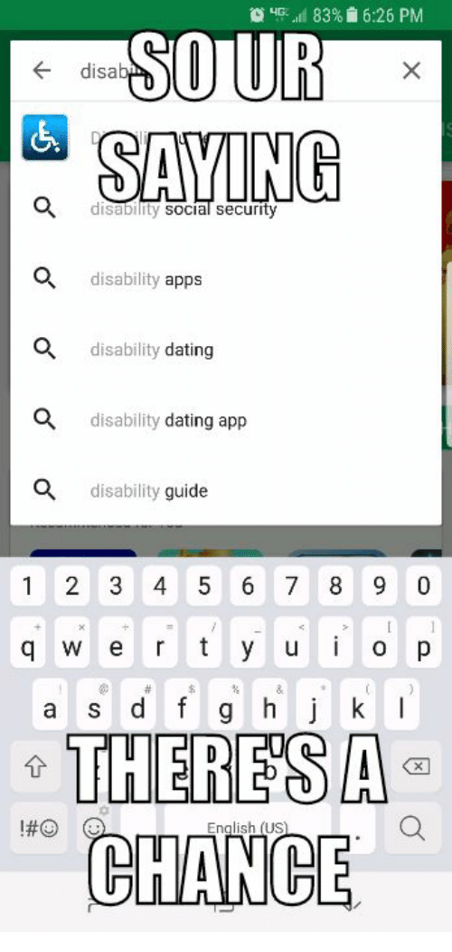 What dating apps are good for disabled