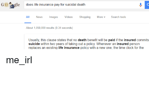 G Gle Does Life Insurance Pay for Suicidal Death All News ...
