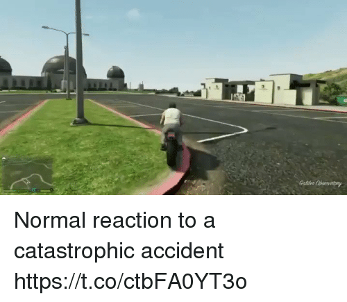 Galles: Galles Normal reaction to a catastrophic accident https://t.co/ctbFA0YT3o