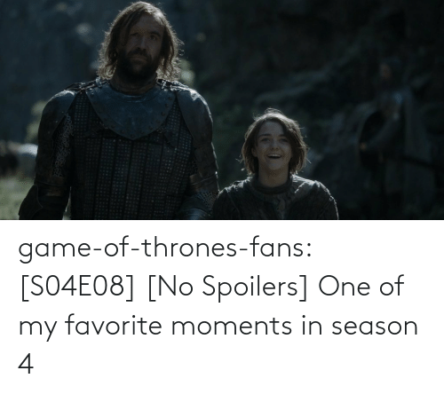 Game of Thrones: game-of-thrones-fans:  [S04E08] [No Spoilers] One of my favorite moments in season 4