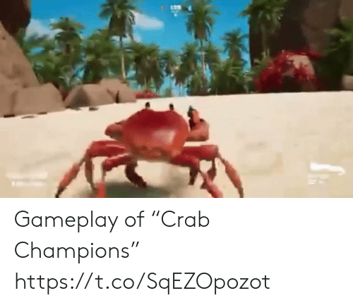 "gameplay: Gameplay of ""Crab Champions"" https://t.co/SqEZOpozot"
