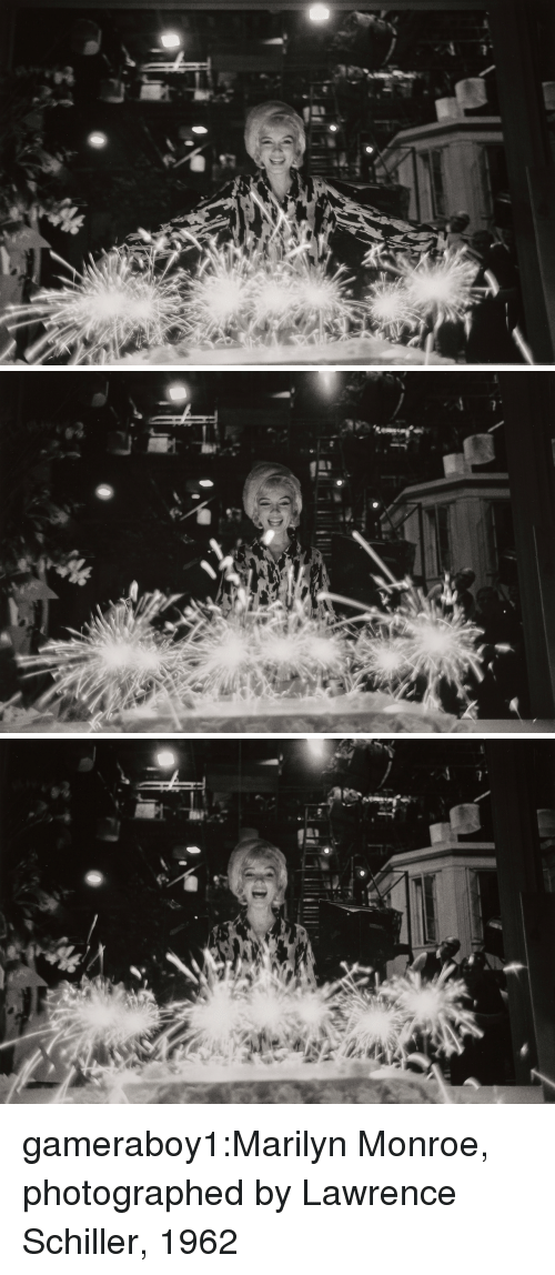 Marilyn Monroe: gameraboy1:Marilyn Monroe, photographed by Lawrence Schiller, 1962