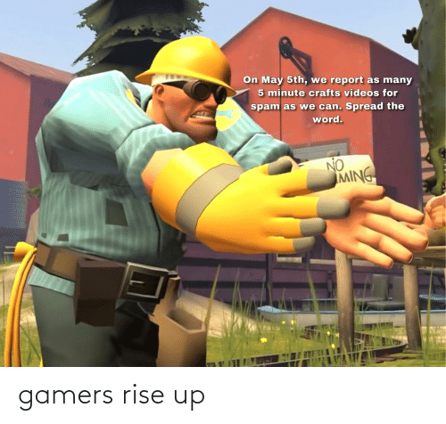 rise up: gamers rise up