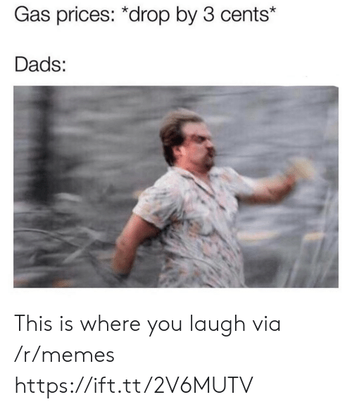 This Is Where: Gas prices: *drop by 3 cents*  Dads: This is where you laugh via /r/memes https://ift.tt/2V6MUTV