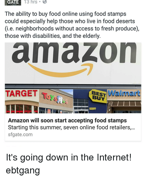 When Will Amazon Start Accepting Food Stamps