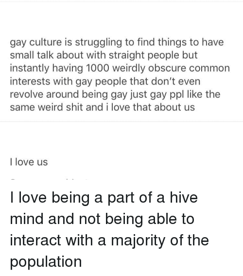Gay Culture Is