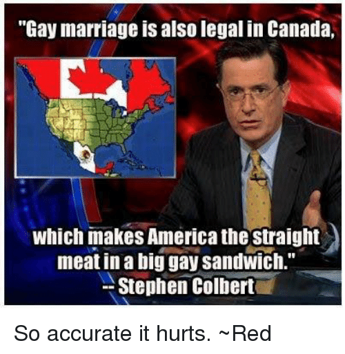 from Bronson gay marriage in canada legal