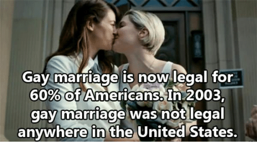 from Demetrius is gay marriage legal anywhere