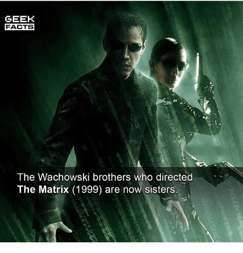 an analysis of the matrix by wachowski brothers The hollywood reporter is an analysis of the matrix trilogy by the wachowski brothers your source for breaking news about hollywood and entertainment, including movies, tv, reviews and industry blogs year: 1991.