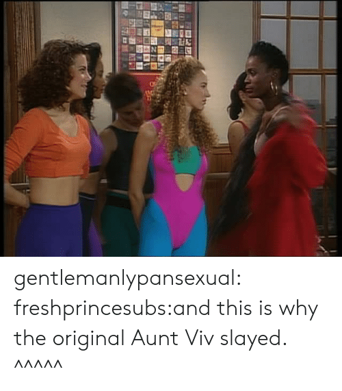 Aunt Viv: gentlemanlypansexual:  freshprincesubs:and this is why the original Aunt Viv slayed.  ^^^^^