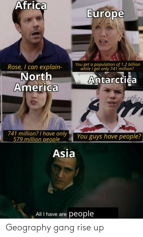 rise up: Geography gang rise up