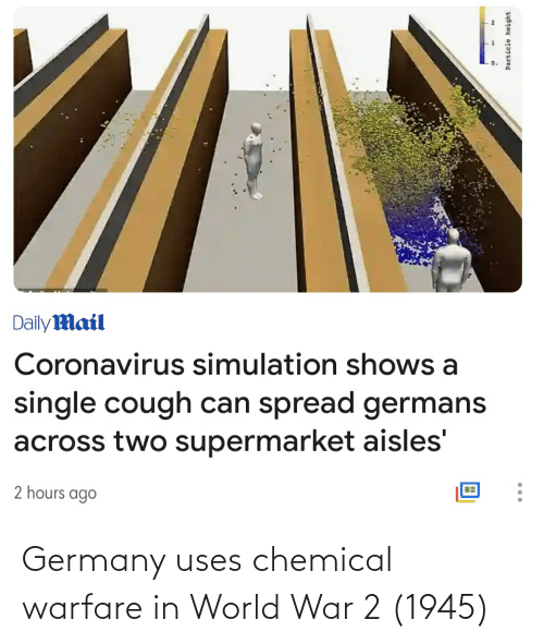 World War 2: Germany uses chemical warfare in World War 2 (1945)