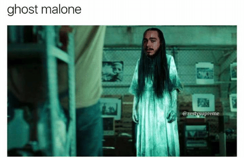 ghostly: ghost malone  @zestysupreme