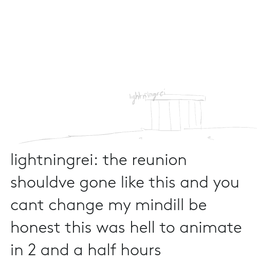 animate: ghring.ci lightningrei:  the reunion shouldve gone like this and you cant change my mindill be honest this was hell to animate in 2 and a half hours