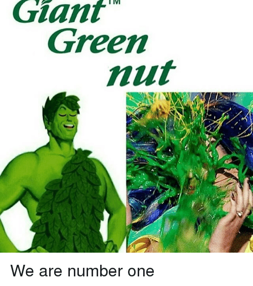 Memes, Giants, and 🤖: Giant  MT  Green  nut  HAM We are number one