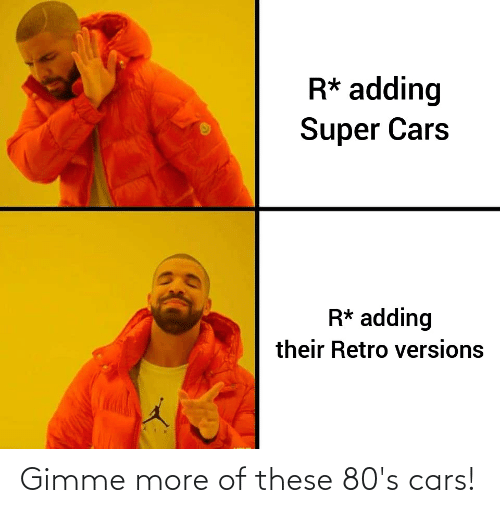 gimme more: Gimme more of these 80's cars!