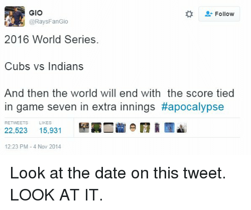 World series dating