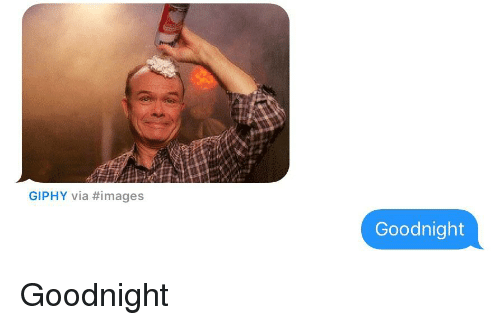 Giphy, Images, and Texts: GIPHY via #images  Goodnight