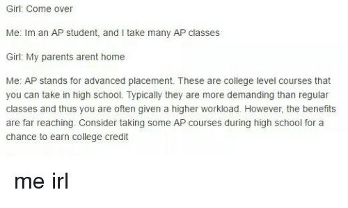 Help With Handling My AP Classes?