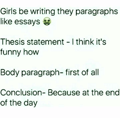 conclusion paragraph thesis statement