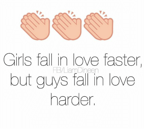 girls fall love with guys bold quickly