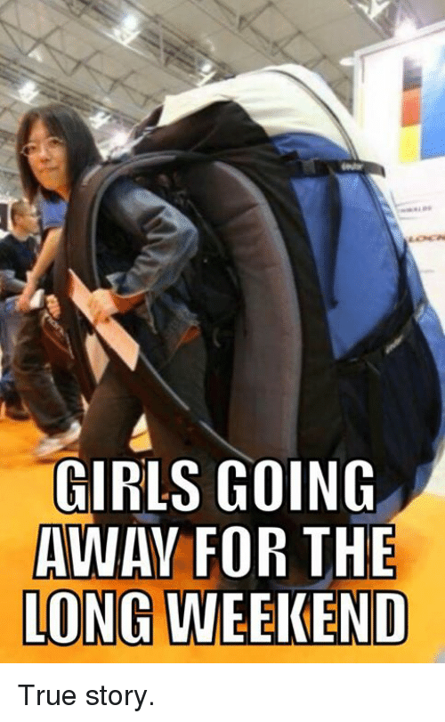 Girls going away for the long weekend true story girls for Get away for the weekend