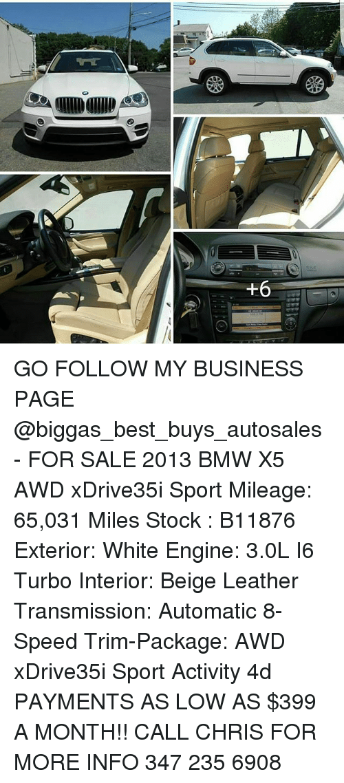 go follow my business page for sale 2013 bmw x5 awd xdrive35i sport mileage 65031 miles stock. Black Bedroom Furniture Sets. Home Design Ideas