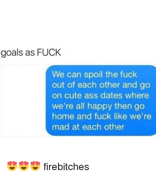 I Just Want A Relationship Where We Fuck Daily, Work To Get Our Own Money, And