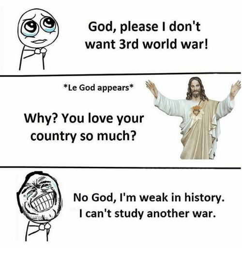 Why Don T You Love Me Post Malone: God Please I Don't Want 3rd World War! *Le God Appears