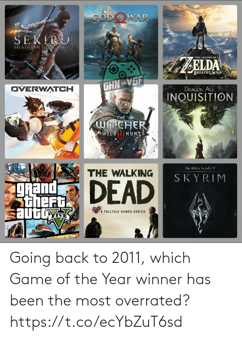 Has Been: Going back to 2011, which Game of the Year winner has been the most overrated? https://t.co/ecYbZuT6sd