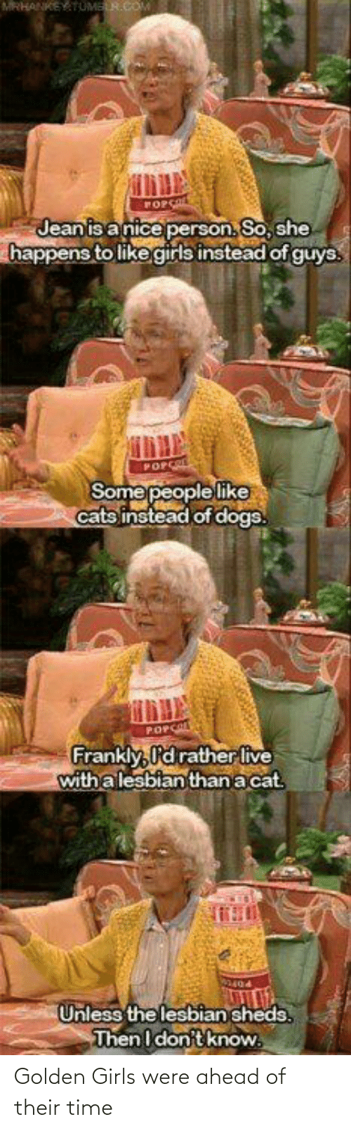 Girls: Golden Girls were ahead of their time