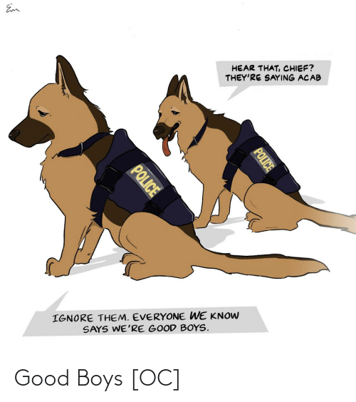 boys: Good Boys [OC]