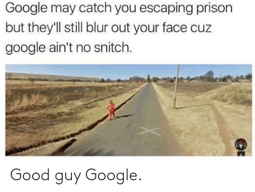 Google: Good guy Google.