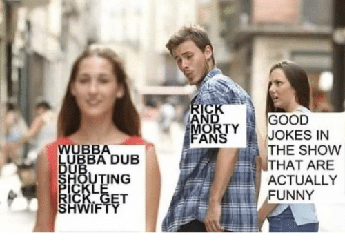 Bubba: GOOD  JOKES IN  THE SHOW  THAT ARE  ACTUALLY  FUNNY  ANS  UBBA  BUBBA DUB  ING  IF
