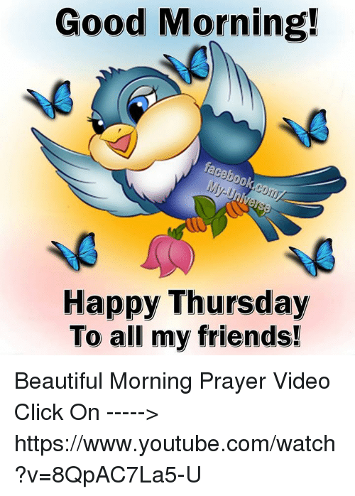 Good Morning Beautiful Thursday Images : Funny youtube and good morning memes of on sizzle