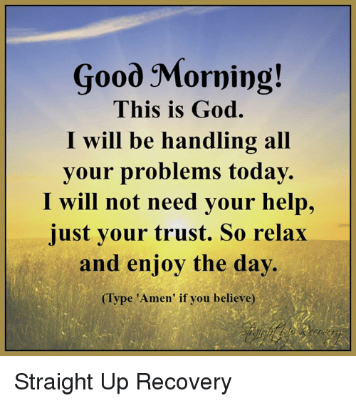 Good Morning Everyone Today I Will : Good morning this is god i will be handling all your