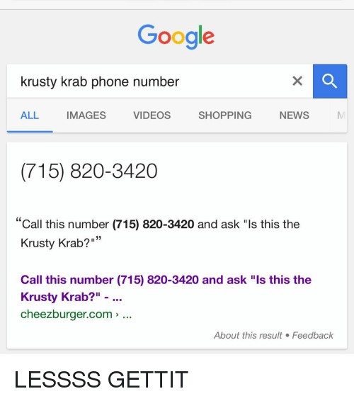 how to google search a cell phone number