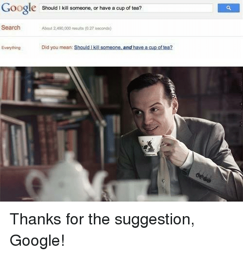 how to kill yourself with a google search