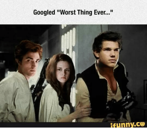 """worst thing ever: Googled """"Worst Thing Ever...""""  ifunny.CO"""