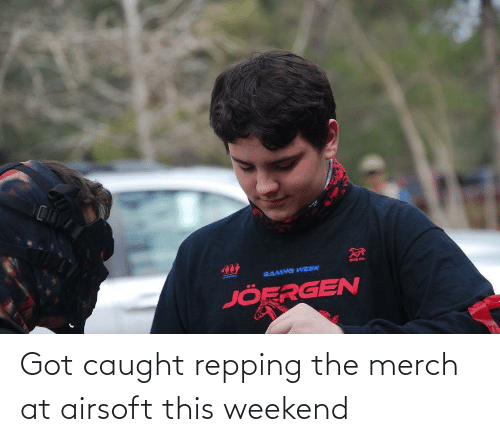 repping: Got caught repping the merch at airsoft this weekend
