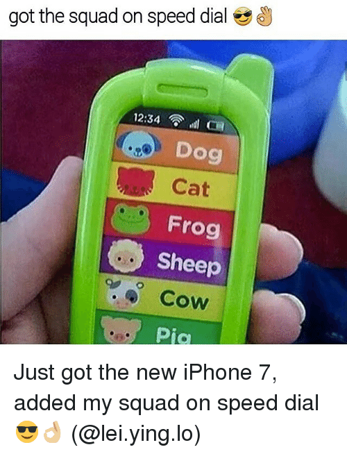 Speed Dial On Iphone