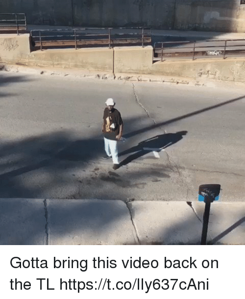 Blackpeopletwitter, Video, and Back: Gotta bring this video back on the TL  https://t.co/lIy637cAni