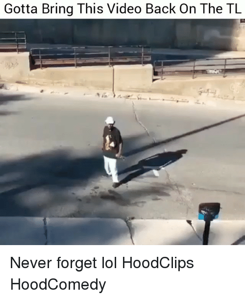 Funny, Lol, and Video: Gotta Bring This Video Back On The TL Never forget lol HoodClips HoodComedy