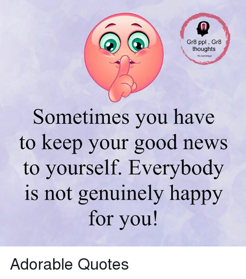 Keep Yourself Busy To Stay Happy Quotes: 25+ Best Memes About Good News