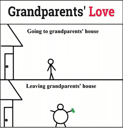 SIZZLE: Grandparents  Love  Going to grandparents' house  Leaving grandparents' house