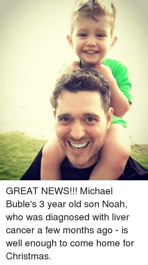 great news michael bubles 3 year old son noah who 9684716 🔥 25 best memes about michael buble michael buble memes,Michael Buble Memes